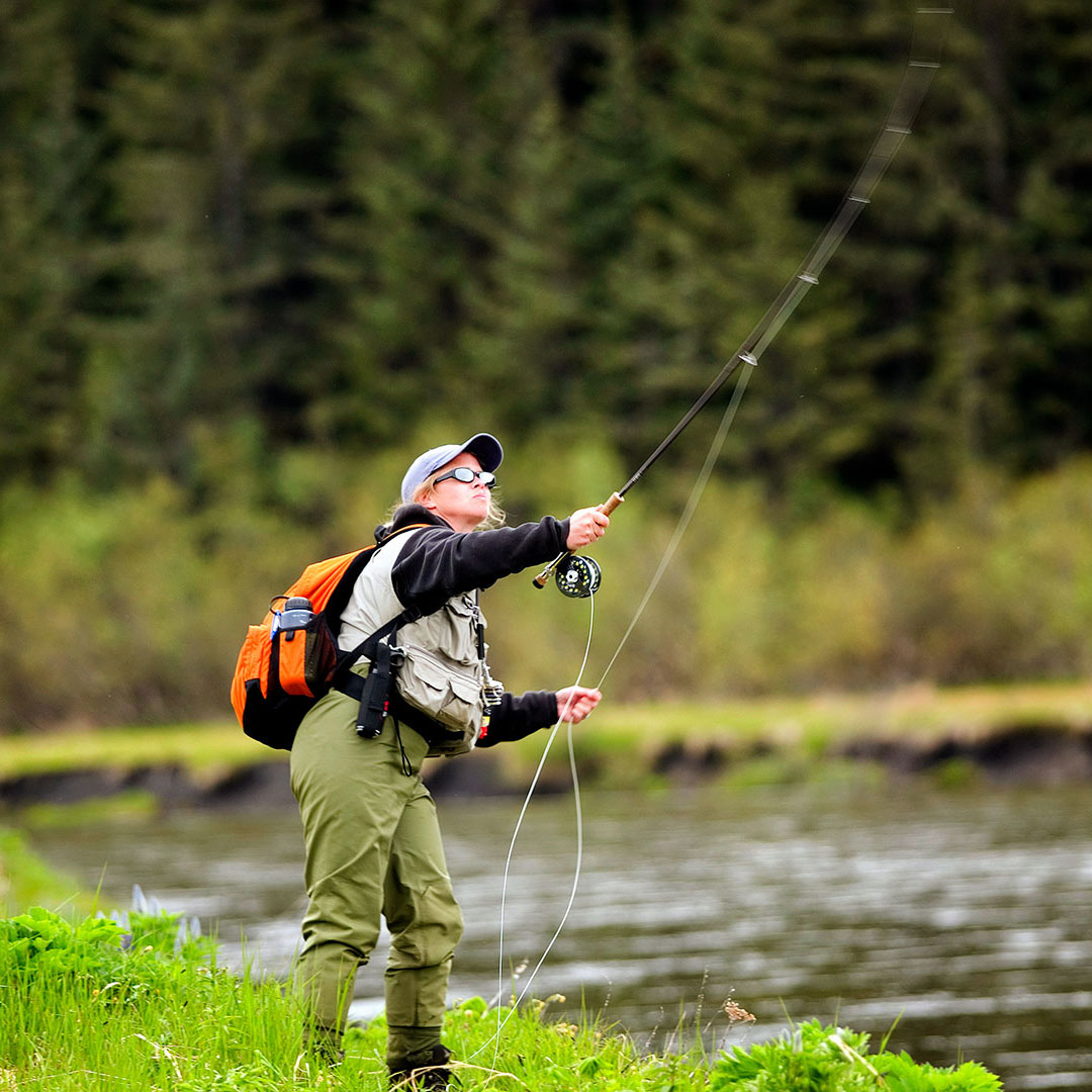 Alaska Wilderness Charters: Sport fishing and Stream Fishing