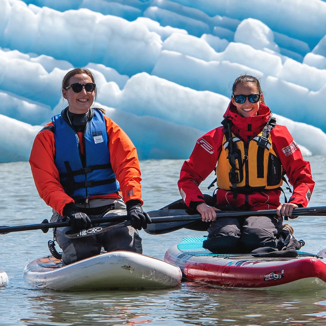 Alaska Wilderness Charters: Paddleboard